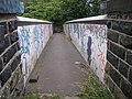 Footbridge over the railway, Springwood, Marsh (Huddersfield) - geograph.org.uk - 193609.jpg