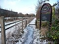 Footpath alongside railway line, Elsecar - geograph.org.uk - 1628416.jpg
