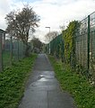 Footpath from Gibson Lane to Church - Kippax - geograph.org.uk - 740945.jpg