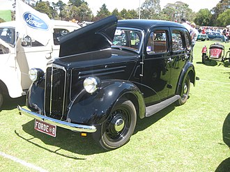 Ford Anglia - 1948 Ford Anglia A54A 4-Door Sedan