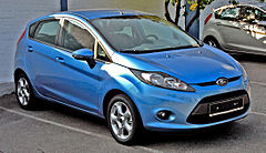 Ford Fiesta Mk VI przed liftingiem