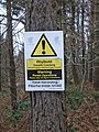 Forest Operations warning notice in Wyre Forest - geograph.org.uk - 1091611.jpg