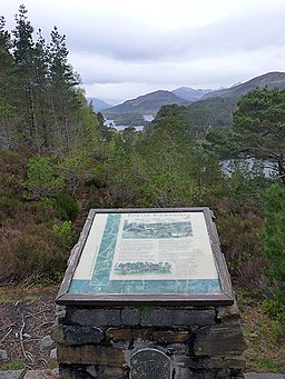Forest viewpoint above Dog Falls - geograph.org.uk - 1295710