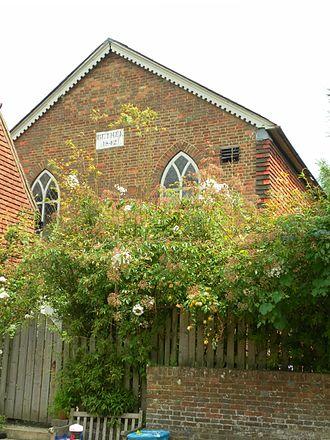 Bethel Strict Baptist Chapel, Robertsbridge - Image: Former Bethel Strict Baptist Chapel, Robertsbridge (NHLE Code 1221399)