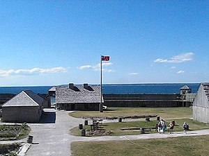 Fort Michilimackinac - Image: Fort Michilimackinac