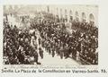 Fotografi av Sevilla. La Plaza de la Constitucion en Viernes-Santo - Hallwylska museet - 104800.tif