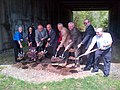 Framingham, Governor Patrick, Cochituate Trail, May 15, 2014 (14005615747).jpg