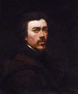 François Bonvin - Self portrait (1847)
