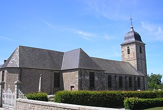 Saint-Charles-de-Percy - Image: France Normandie Saint Charles De Percy Eglise