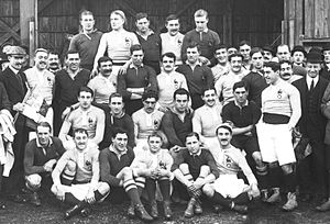 Jacky Morkel - Image: France and South Africa rugby teams 1913