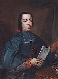 Francesco Agostino della Chiesa, Bishop of Vigevano (born 1717) by Davide Loreti.jpg