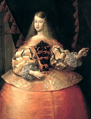 Margaret Theresa of Spain - Margaret Theresa in 1666