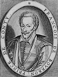 François de Bourbon, Prince of Conti Prince of Conti