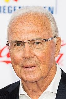 Franz Beckenbauer German association football player