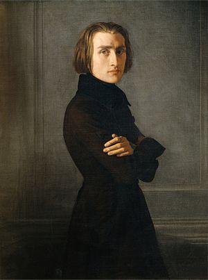 Life of Franz Liszt - Liszt in 1839; painting by Henri Lehmann