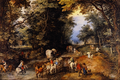 Frequented Forest Road - Jan Brueghel.png