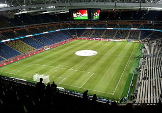 2016–17 UEFA Europa League - Image: Friends Arena from inside