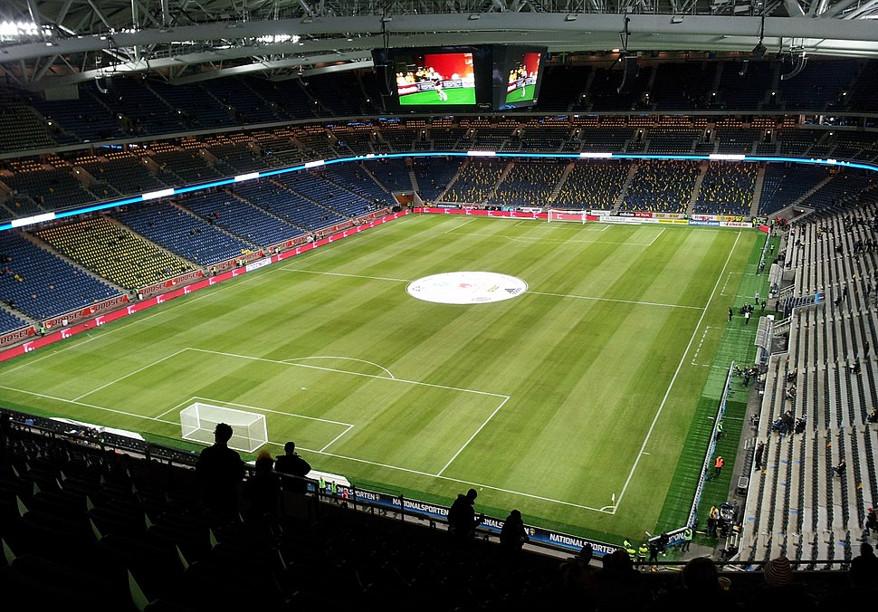 Friends Arena from inside
