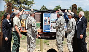Modular Airborne FireFighting System - Honoring the airmen of the North Carolina Air National Guard C-130 aircraft that crashed while fighting the White Draw Fire