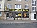 Front des Comic und Musik Archiv Bielefeld (3258289000).jpg