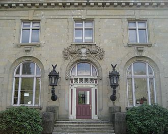 Gatke Hall - The entrance to Gatke Hall