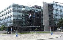 Handelskammer luxemburg wikipedia for Chambre de commerce kirchberg