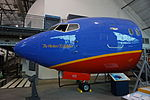 Frontiers of Flight Museum December 2015 123 (Southwest Airlines Boeing 737-200 nose).jpg