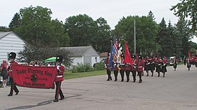 Fulda raider marching band 2006 woodduck days.jpg