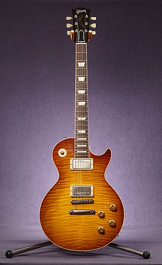 Gibson Les Paul - Gibson Les Paul Standard Gibson Custom Shop reissue 1959. Removed pick guard.