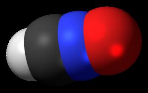 Fulminic acid - Image: Fulminic acid 3D spacefill