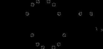 Fumonisin B2 - Image: Fumonisin B2