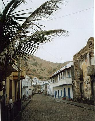 Furna (Brava) - Image: Furna Rua Principal