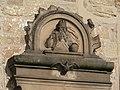 Güglingen - Frauenzimmern - Martinskirche - Relief mit Gottvater und Heiligem Geist als Taube 002.JPG