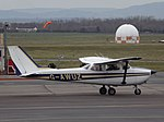 G-AWUZ Reims F172 @Gloucestershire Airport, March 2016.jpg