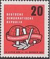 GDR-stamp Gewerkschaftskongreß 20 1957 Mi. 595.JPG