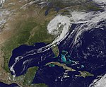 """GOES-13 Satellite Sees a """"Giant Apostrophe"""" from Strong Eastern U.S. Low Pressure (5613590383).jpg"""