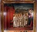 Gabella 45, guidoccio cozzarelli, il camarlingo e gli esecutori penintenti pregano la maria di entrare in siena, 1489, 02.jpg