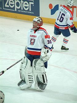 Gaber Glavič on Ice hockey WC 2005.jpg