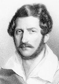 Donizetti um 1835 (Quelle: Wikimedia)