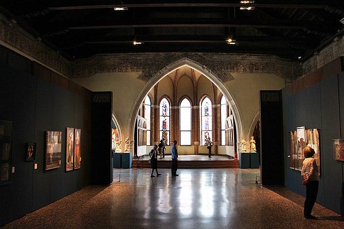Gallerie dell'accademia, una sala 04 s.m. della carità