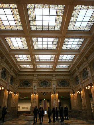 Gallerie di Piazza Scala - One of the museum's halls in the 20th century section