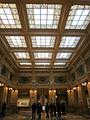 Gallerie di piazza Scala - Palazzo della Banca Commerciale Italiana - salone interno.JPG