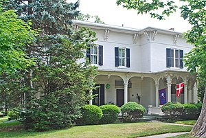 National Register of Historic Places listings in Livingston County, Michigan - Image: Galloway House Howell MI