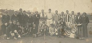 Clube Atlético Mineiro - The Atlético Mineiro team that won the Taça Bueno Brandão in 1914, the club's first trophy