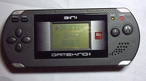 GameKing - A GameKing II (GM-219) with its selection menu