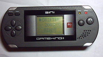 GameKing - A GameKing II (GM-219) with its selection menu