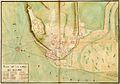 Gaspard-Joseph Chaussegros de Lery, Plan de la ville de Quebec, 1727.jpg