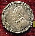 Gaspare morone, medaglia di innocenzo X, 1653, argento.JPG
