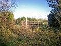 Gateway, Trenewydd Lane, Llanteg - geograph.org.uk - 1060500.jpg