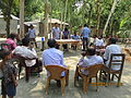 Gathering in a meeting of villagers in an Bangladeshi village 2015 15.jpg
